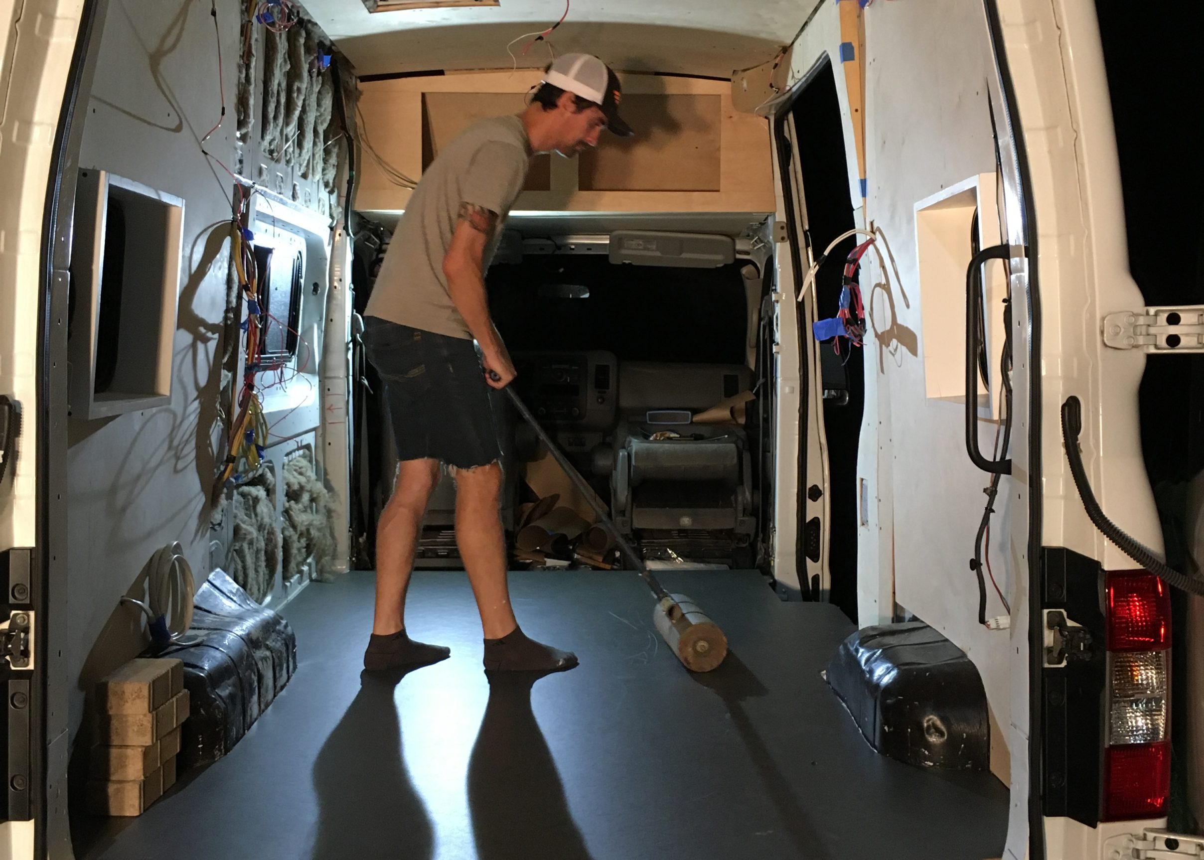 Non Toxic Flooring For A Diy Camper Van